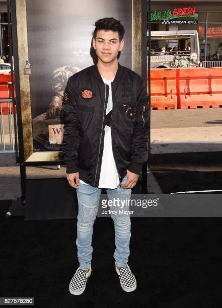 Actor Julian Jara attends the premiere of New Line Cinema's 'Annabelle Creation' at TCL Chinese Theatre IMAX on August 07 2017 in Los Angeles...