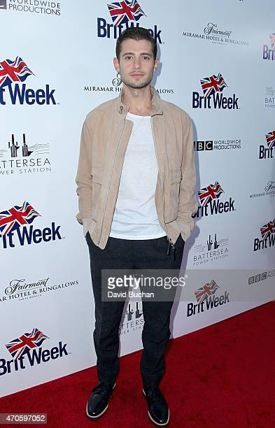 Actor Julian Morris arrives at the 9th Annual BritWeek launch party at the British Consul General's Residence on April 21 2015 in Los Angeles...