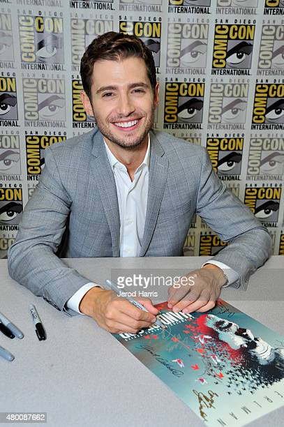 Actor Julian Morris attends Amazon Original Series 'Hand of God' Panel And Signing on July 9 2015 in San Diego California