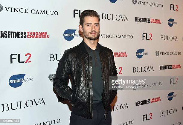 Actor Julian Morris attends MEN'S FITNESS Celebration of The 2015 Game Changers on September 24 2015 in West Hollywood California