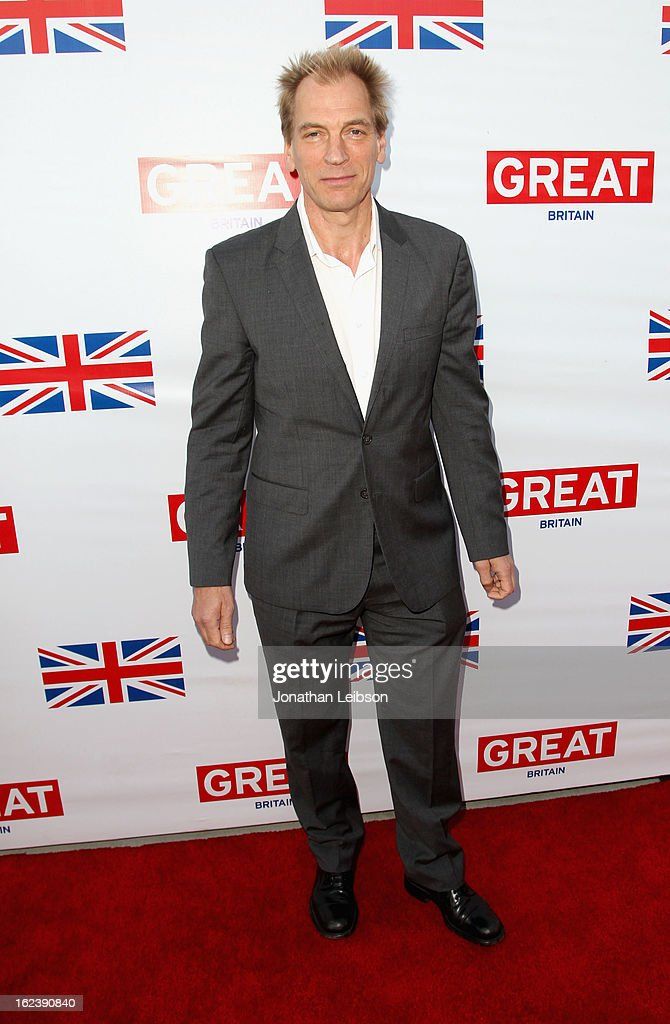 Actor <a gi-track='captionPersonalityLinkClicked' href=/galleries/search?phrase=Julian+Sands&family=editorial&specificpeople=642213 ng-click='$event.stopPropagation()'>Julian Sands</a> attends the GREAT British Film Reception at British Consul General's Residence on February 22, 2013 in Los Angeles, California.