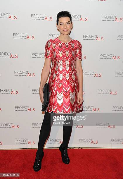 Actor Julianna Margulies attends the 17th Annual Project ALS New York City Gala at Cipriani 42nd Street on October 28 2015 in New York City