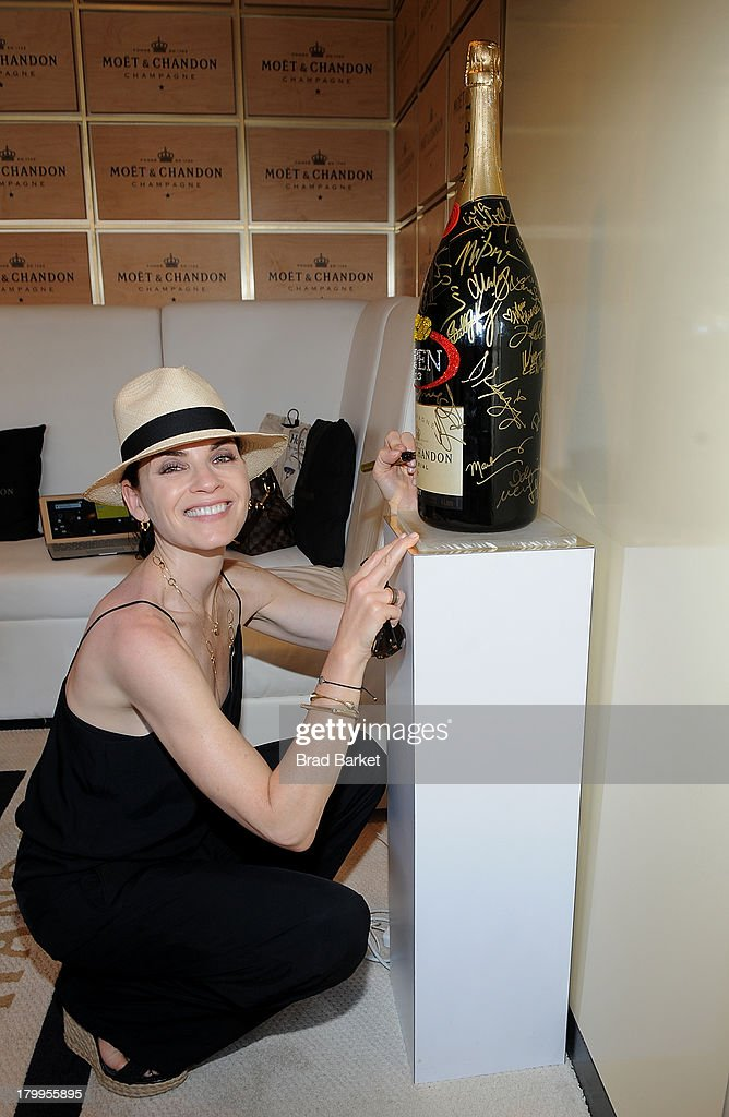 Actor Julianna Margulies attends The Moet & Chandon Suite at USTA Billie Jean King National Tennis Center on September 7, 2013 in New York City.