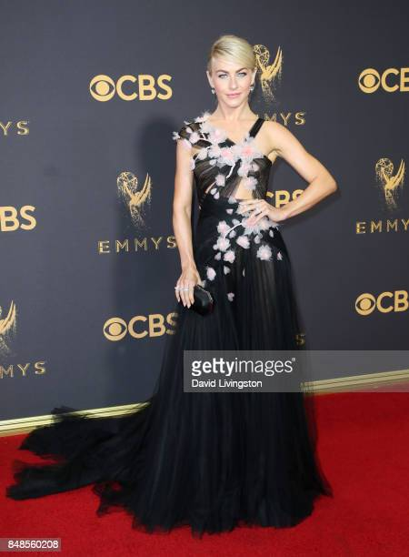 Actor Julianne Hough attends the 69th Annual Primetime Emmy Awards Arrivals at Microsoft Theater on September 17 2017 in Los Angeles California