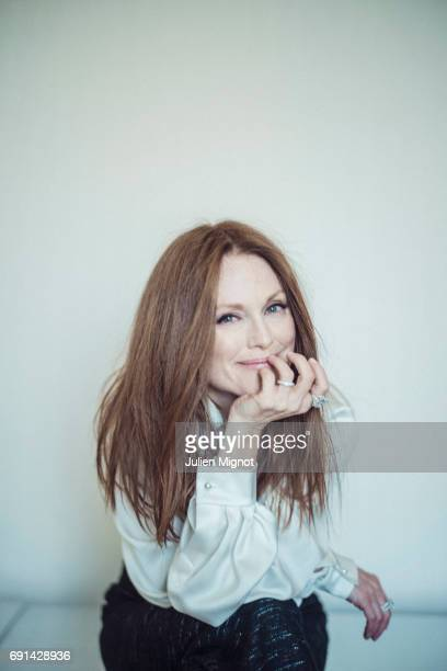 Actor Julianne Moore is photographed for Grazia magazine on May 17 2017 in Cannes France