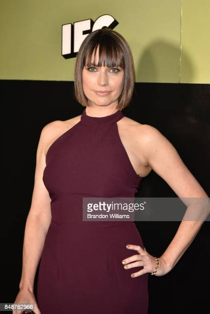 Actor Julie Ann Emery attends AMC Networks 68th Primetime Emmy Awards After Party at BOA Steakhouse on September 17 2017 in West Hollywood California