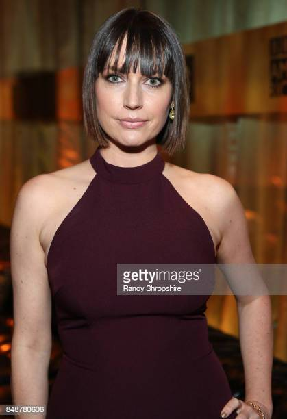 Actor Julie Ann Emory at AMC BBCA and IFC Emmy party at BOA Steakhouse on September 17 2017 in West Hollywood California