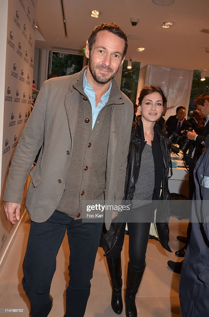 lacoste flagship store opening party getty images. Black Bedroom Furniture Sets. Home Design Ideas