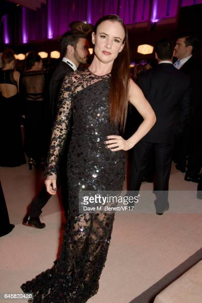 Actor Juliette Lewis attends the 2017 Vanity Fair Oscar Party hosted by Graydon Carter at Wallis Annenberg Center for the Performing Arts on February...