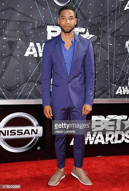 Actor Jussie Smollett attends the 2015 BET Awards at the Microsoft Theater on June 28 2015 in Los Angeles California