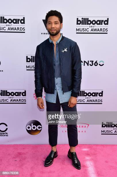 Actor Jussie Smollett attends the 2017 Billboard Music Awards at TMobile Arena on May 21 2017 in Las Vegas Nevada