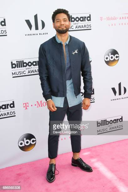 Actor Jussie Smollett attends the 2017 Billboard Music Awards at the TMobile Arena on May 21 2017 in Las Vegas Nevada