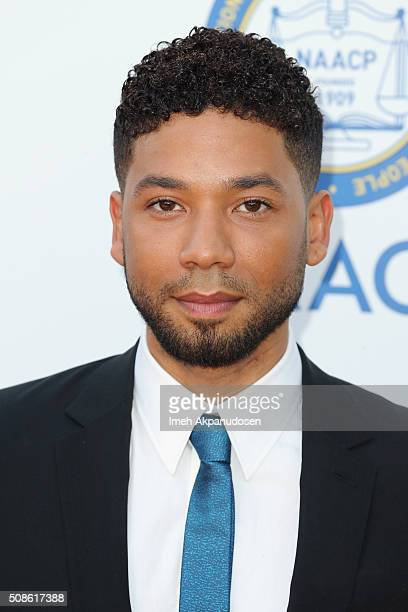 Actor Jussie Smollett attends the 47th NAACP Image Awards presented by TV One at Pasadena Civic Auditorium on February 5 2016 in Pasadena California