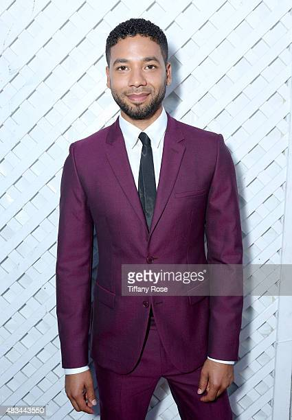 Actor Jussie Smollett attends the HollyRod Foundation's 17th annual DesignCare Gala at The Lot Studios on August 8 2015 in Los Angeles California