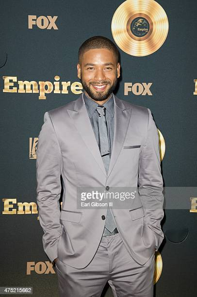Actor Jussie Smollett attends the Television Academy Event For 'EmpireA Performance Under The Stars At The Grove on May 29 2015 in Los Angeles...