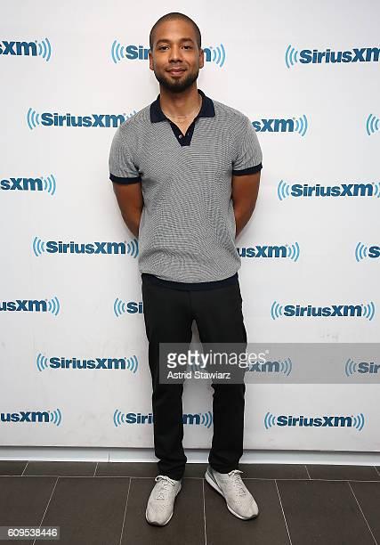 Actor Jussie Smollett visits the SiriusXM Studios on September 21 2016 in New York City