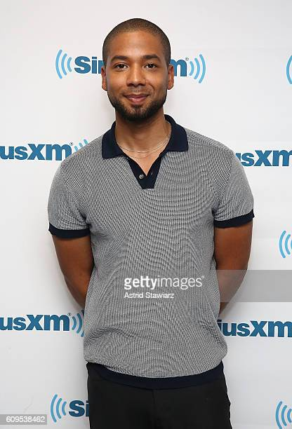 Actor Jussie Smollett visits the SiriusXM Studios on September 21 2016 in New York City