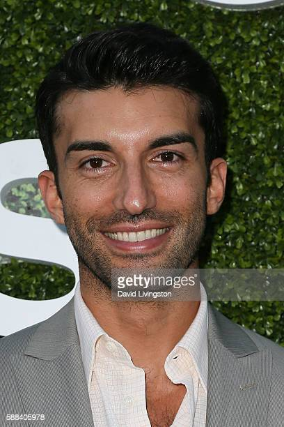 Actor Justin Baldoni arrives at the CBS CW Showtime Summer TCA Party at the Pacific Design Center on August 10 2016 in West Hollywood California