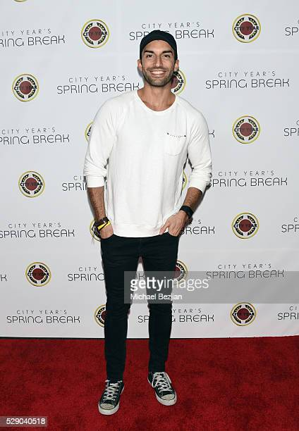 Actor Justin Baldoni attends City Year Los Angeles Spring Break Event at Sony Studios on May 7 2016 in Los Angeles California