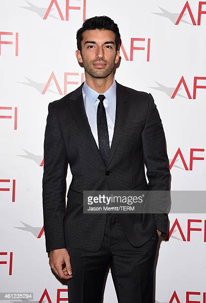 Actor Justin Baldoni attends the 15th Annual AFI Awards at Four Seasons Hotel Los Angeles at Beverly Hills on January 9 2015 in Beverly Hills...