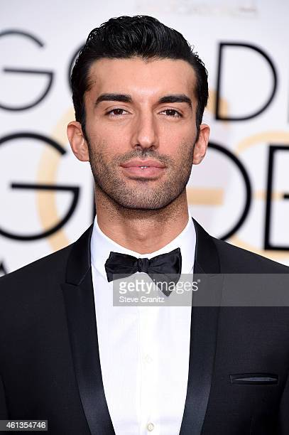 Actor Justin Baldoni attends the 72nd Annual Golden Globe Awards at The Beverly Hilton Hotel on January 11 2015 in Beverly Hills California