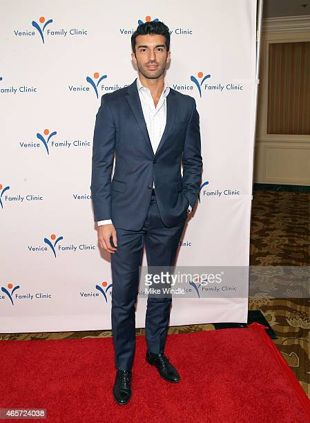 Actor Justin Baldoni attends Venice Family Clinic's Silver Circle Gala at Regent Beverly Wilshire Hotel on March 9 2015 in Beverly Hills California