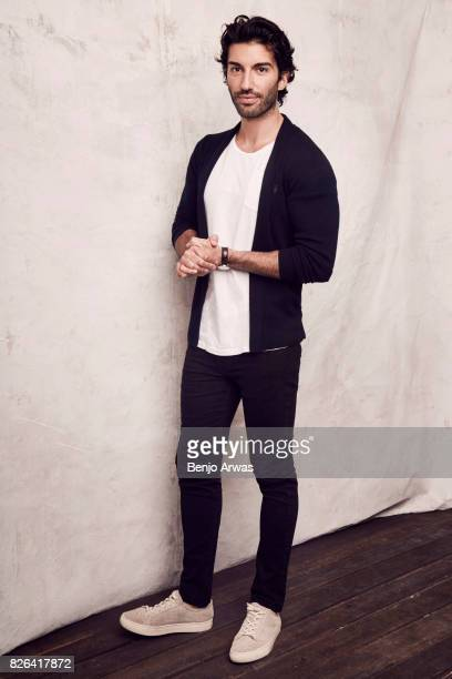 Actor Justin Baldoni of CW's ''Everwood' A 15th Anniversary Reunion' poses for a portrait during the 2017 Summer Television Critics Association Press...