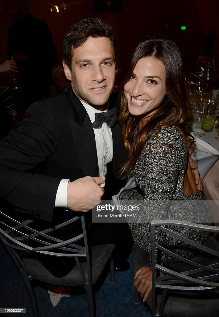 Actor <a gi-track='captionPersonalityLinkClicked' href=/galleries/search?phrase=Justin+Bartha&family=editorial&specificpeople=653334 ng-click='$event.stopPropagation()'>Justin Bartha</a> (L) and Lia Smith attend The Art of Elysium's 6th Annual HEAVEN Gala After Party presented by Audi at 2nd Street Tunnel on January 12, 2013 in Los Angeles, California.