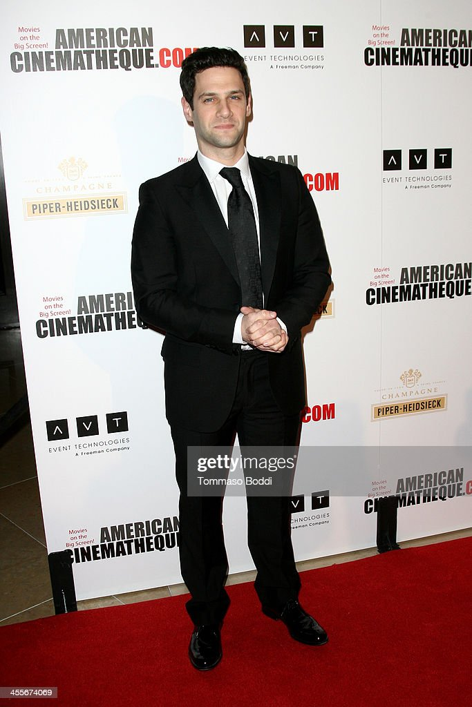 Actor <a gi-track='captionPersonalityLinkClicked' href=/galleries/search?phrase=Justin+Bartha&family=editorial&specificpeople=653334 ng-click='$event.stopPropagation()'>Justin Bartha</a> arrives at the 27th American Cinematheque Award honoring Jerry Bruckheimer at The Beverly Hilton Hotel on December 12, 2013 in Beverly Hills, California.