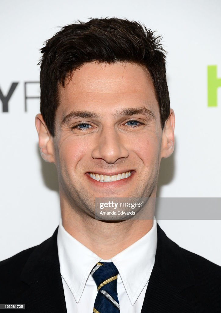 Actor Justin Bartha arrives at the 30th Annual PaleyFest The William S Paley Television Festival featuring 'The New Normal' at the Saban Theatre on...