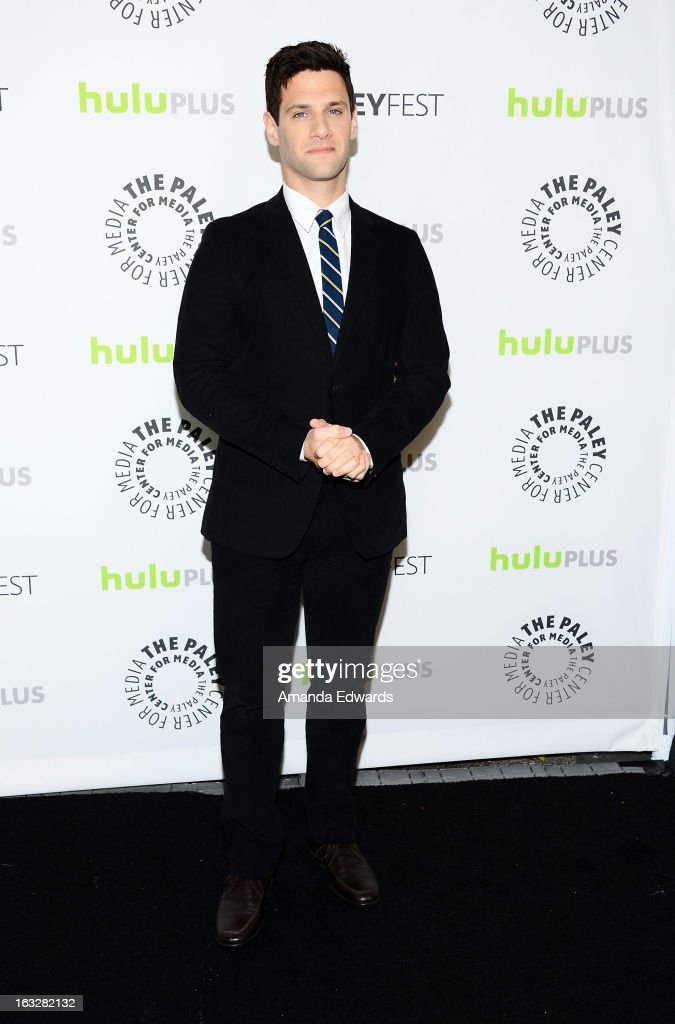 Actor Justin Bartha arrives at the 30th Annual PaleyFest: The William S. Paley Television Festival featuring 'The New Normal' at the Saban Theatre on March 6, 2013 in Beverly Hills, California.