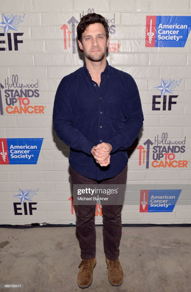 Actor <a gi-track='captionPersonalityLinkClicked' href=/galleries/search?phrase=Justin+Bartha&family=editorial&specificpeople=653334 ng-click='$event.stopPropagation()'>Justin Bartha</a> attends Hollywood Stands Up To Cancer Event with contributors American Cancer Society and Bristol Myers Squibb hosted by Jim Toth and Reese Witherspoon and the Entertainment Industry Foundation on Tuesday, January 28, 2014 in Culver City, California.