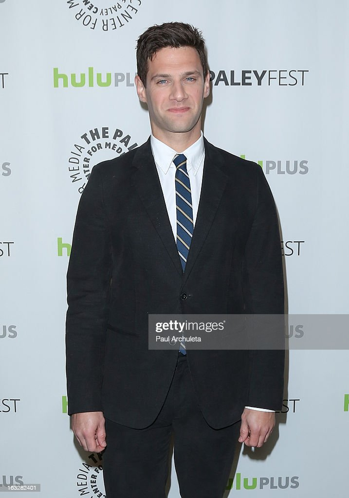 Actor Justin Bartha attends the 30th annual PaleyFest featuring the cast of 'The New Normal' at Saban Theatre on March 6, 2013 in Beverly Hills, California.