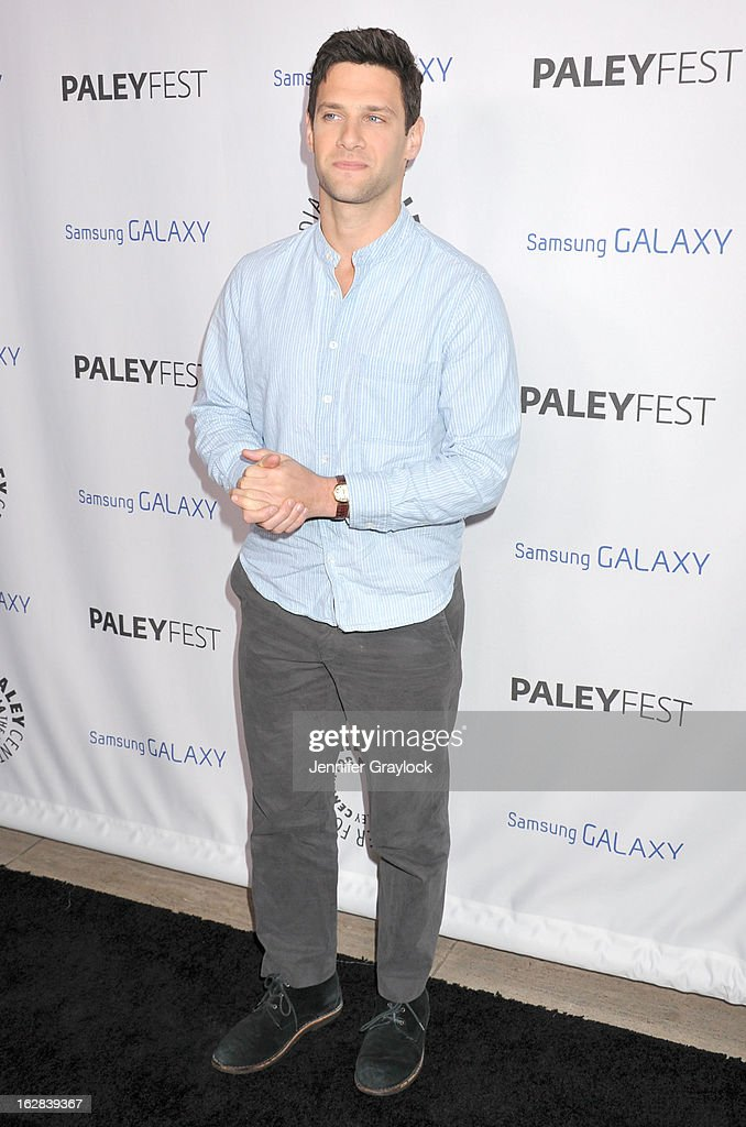 Actor Justin Bartha attends the PaleyFest Icon Award 2013 held at The Paley Center for Media on February 27, 2013 in Beverly Hills, California.