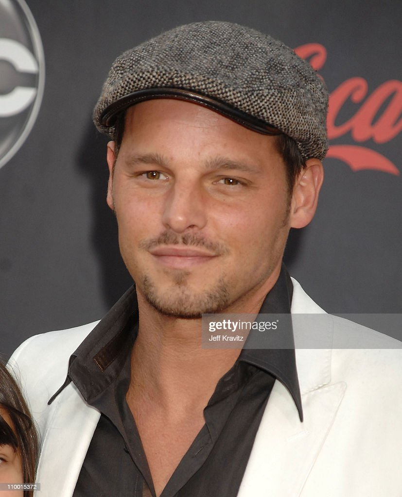 Actor Justin Chambers arrives to the 2007 American Music Awards at the Nokia Theatre on November 18 2007 in Los Angeles California