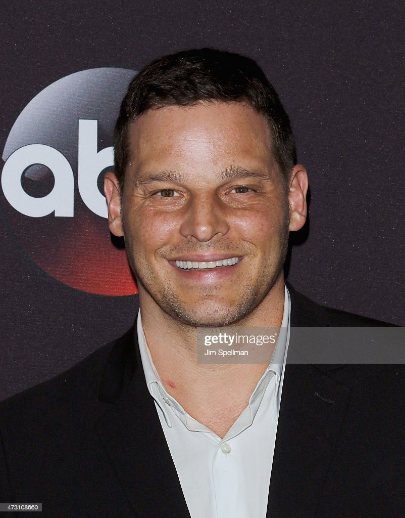 Actor Justin Chambers attends the 2015 ABC upfront presentation at Avery Fisher Hall at Lincoln Center for the Performing Arts on May 12 2015 in New...
