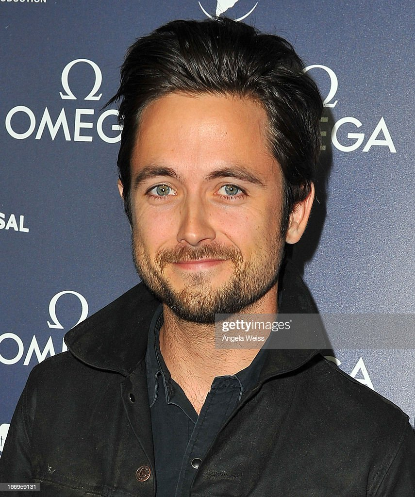 Actor <a gi-track='captionPersonalityLinkClicked' href=/galleries/search?phrase=Justin+Chatwin&family=editorial&specificpeople=560431 ng-click='$event.stopPropagation()'>Justin Chatwin</a> attends the US launch of 'Planet Ocean' presented by Omega Watches at Pacific Design Center on April 18, 2013 in West Hollywood, California.