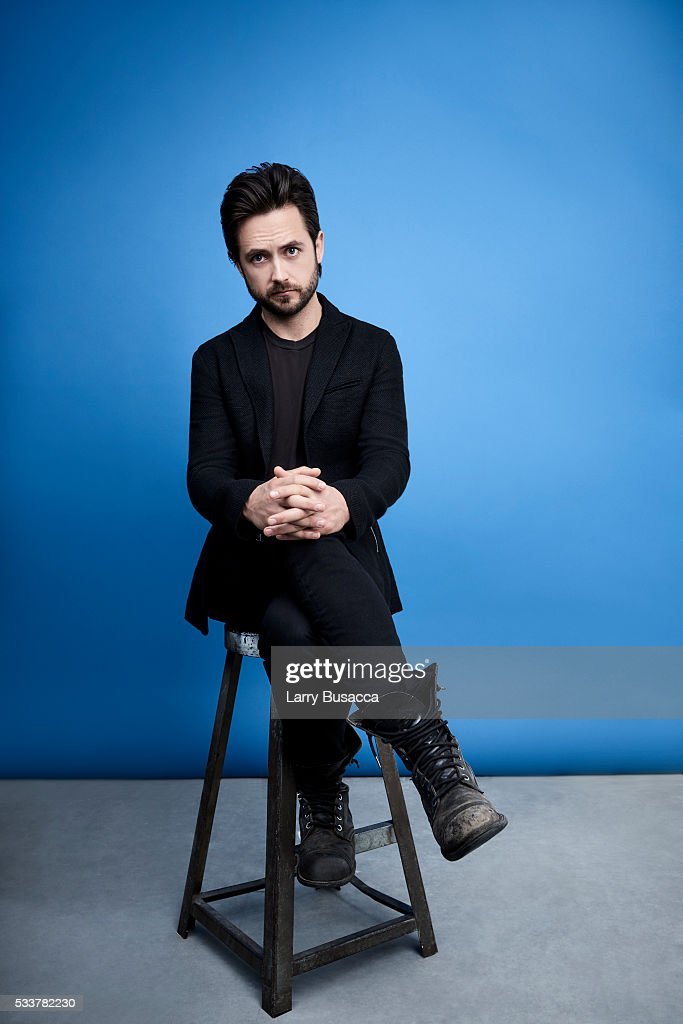 Actor Justin Chatwin poses for a portrait at the Tribeca Film Festival on April 17, 2016 in New York City.