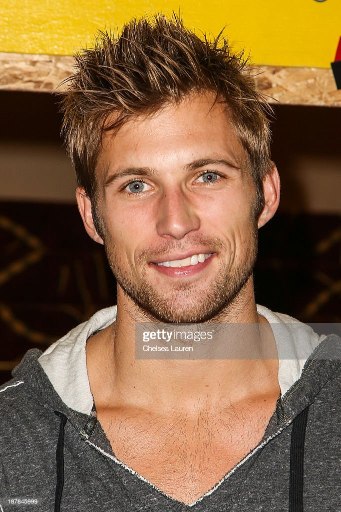 Actor Justin Deeley arrives at A Country Christmas VIP screening hosted by miss Caitlin Carmichael to benefit Alex's Lemonade Stand on November 12, 2013 in Los Angeles, California.