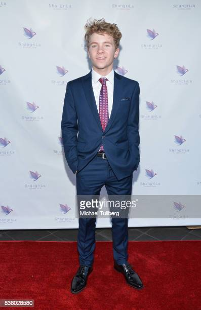 Actor Justin Ellings attends the ShangriLa Global Launch and PopUp store on August 20 2017 in Beverly Hills California