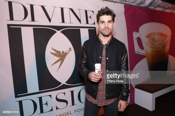Actor Justin Gaston attends the Nescafe Dolce Gusto Lounge at Divine Design on December 5 2013 in Beverly Hills California