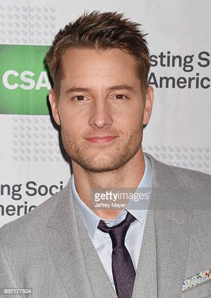 Actor Justin Hartley arrives at the 2017 Annual Artios Awards at The Beverly Hilton Hotel on January 19 2017 in Beverly Hills California
