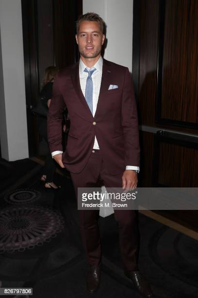 Actor Justin Hartley at the 33rd Annual Television Critics Association Awards during the 2017 Summer TCA Tour at The Beverly Hilton Hotel on August 5...