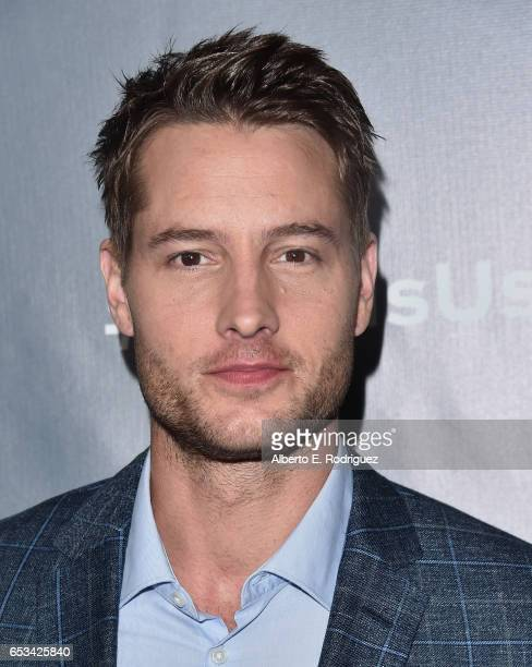 Actor Justin Hartley attends a screening of the season finale of NBC's 'This Is Us' at The Directors Guild Of America on March 14 2017 in Los Angeles...