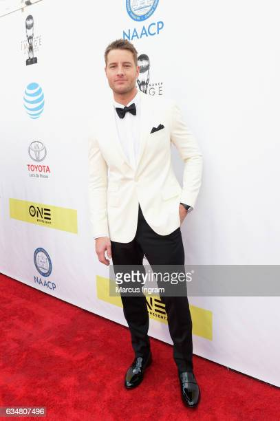 Actor Justin Hartley attends the 48th NAACP Image Awards at Pasadena Civic Auditorium on February 11 2017 in Pasadena California