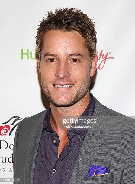 Actor Justin Hartley attends the 5th Annual Los Angeles Unbridled Eve Derby Prelude Party at The London West Hollywood on January 9 2014 in West...