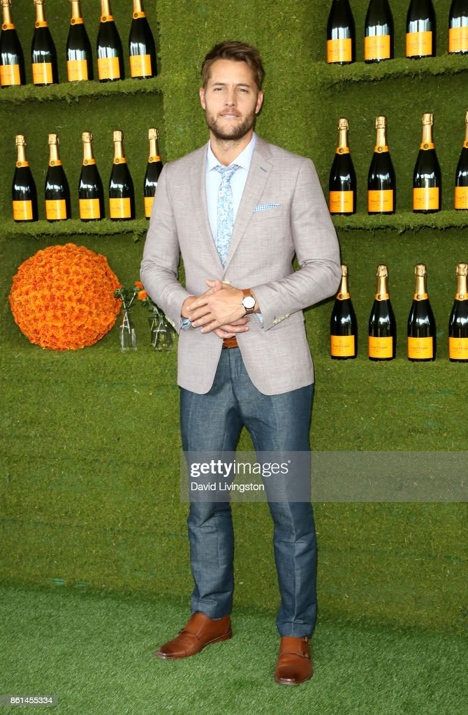 Actor Justin Hartley attends the 8th Annual Veuve Clicquot Polo Classic at Will Rogers State Historic Park on October 14, 2017 in Pacific Palisades, California.