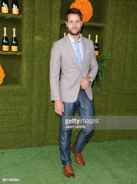 Actor Justin Hartley attends the 8th annual Veuve Clicquot Polo Classic at Will Rogers State Historic Park on October 14 2017 in Pacific Palisades...