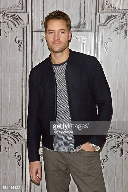 Actor Justin Hartley attends the Build series to discuss 'This Is Us' at AOL HQ on January 10 2017 in New York City