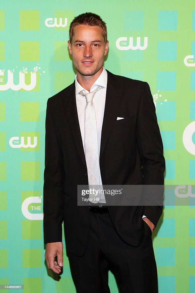 Actor Justin Hartley attends The CW Network's New York 2012 Upfront at New York City Center on May 17, 2012 in New York City.